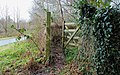 Gate, Lagan towpath, Belfast - geograph.org.uk - 1639379.jpg