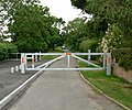 Gated road - geograph.org.uk - 481658.jpg