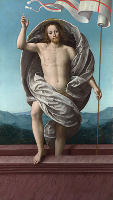 Gaudenzio Ferrari - Christ rising from the Tomb - Google Art Project.jpg