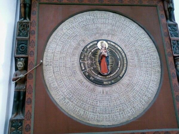 Gda%C5%84sk Bazylika Mariacka (zegar astronomiczny)