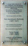 Gedenktafel.Mendelssohn.Bundesrat.Berlin