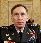 General David Petraeus in testimony before Congress