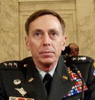 General David Petraeus in testimony before Congress