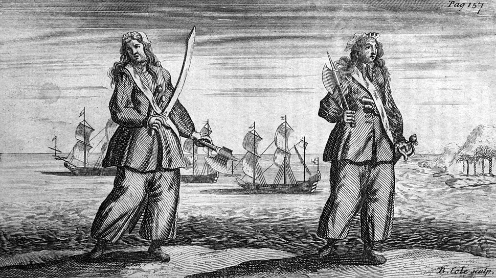 General History of the Pyrates - Ann Bonny and Mary Read