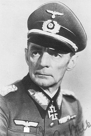 Walther Graeßner - Image: General der Infanterie Walther Graessner