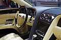 Geneva MotorShow 2013 - Bentley New Flying Spur steering wheel and center console.jpg
