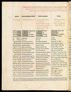 Polyglot (book) Multilingual book or manuscript
