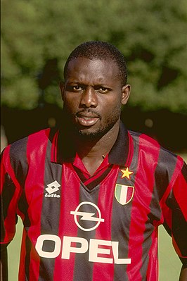 George Weah in 1996