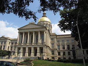 Georgia State Capitol - Georgia State Capitol front entrance