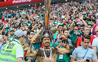 Mexico's fans at the 2018 FIFA World Cup in Russia Ger-Mex (4).jpg
