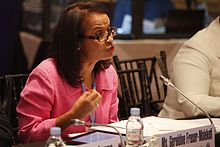 Geraldine Fraser-Moleketi - 7th Broadband Commission for Digital Development Meeting, Mexico City, Mexico.jpg