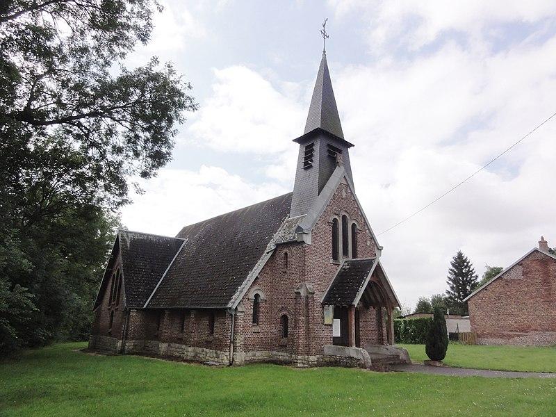 Germaine (Aisne) église Saint-Martin
