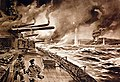 German ships battle to conquer the island of Osel in the Gulf of Riga, WWI (29411745455).jpg