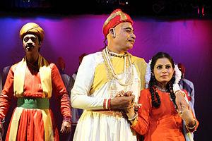 Ghashiram Kotwal - Image: Ghashiram Kotwal play (1)