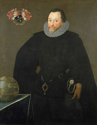 Spanish Armada - Sir Francis Drake in 1591