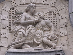 Wet nurse - Image: Ghent relief