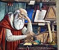 Ghirlandaio, San Girolamo nello studio, 1480, 03.JPG