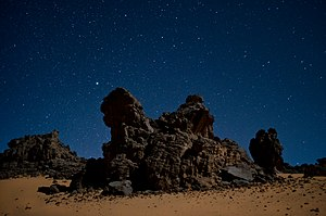 Giants - Rock towers in the Algerian Sahara