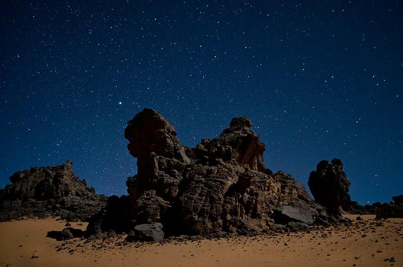 File:Giants - Rock towers in the Algerian Sahara.jpg