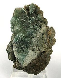 Gibbsite form of aluminium hydroxide, mineral