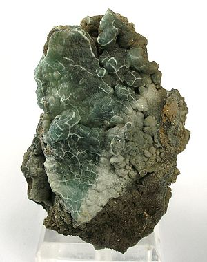 Gibbsite - Gibbsite from China