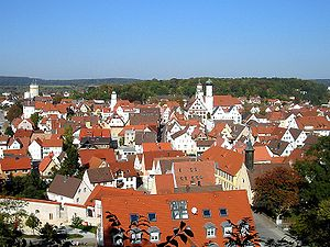 Giengen - Giengen from the Bruckersberg