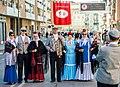 Gigantes y cabezudos, pasacalles castizos, música y talleres culturales para niños y niñas en el día grande de San Isidro 04.jpg