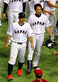 Ginjiro Sumitani and Shogo Akiyama on November 21, 2015.jpg