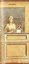Prudence, by Giotto di Bondone