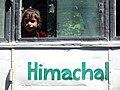 Girl in Bus Window - Shimla - Himachal Pradesh - India - 01 (26511387251).jpg