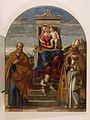 Girolamo da Santacroce - Marija z otrokom na prestolu s svetnikoma.jpg