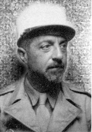 Giuseppe Bottai - Bottai serving in the French Foreign Legion