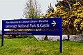 Glenveagh National Park - Entrance sign off R251 - geograph.org.uk - 1187165.jpg