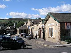 Glossop railway station