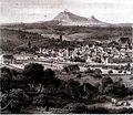 Gmünd mit Rechberg und Hohenstaufen 1850.jpg