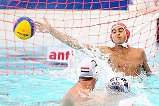 Goalkeeper (water polo) Position in water polo