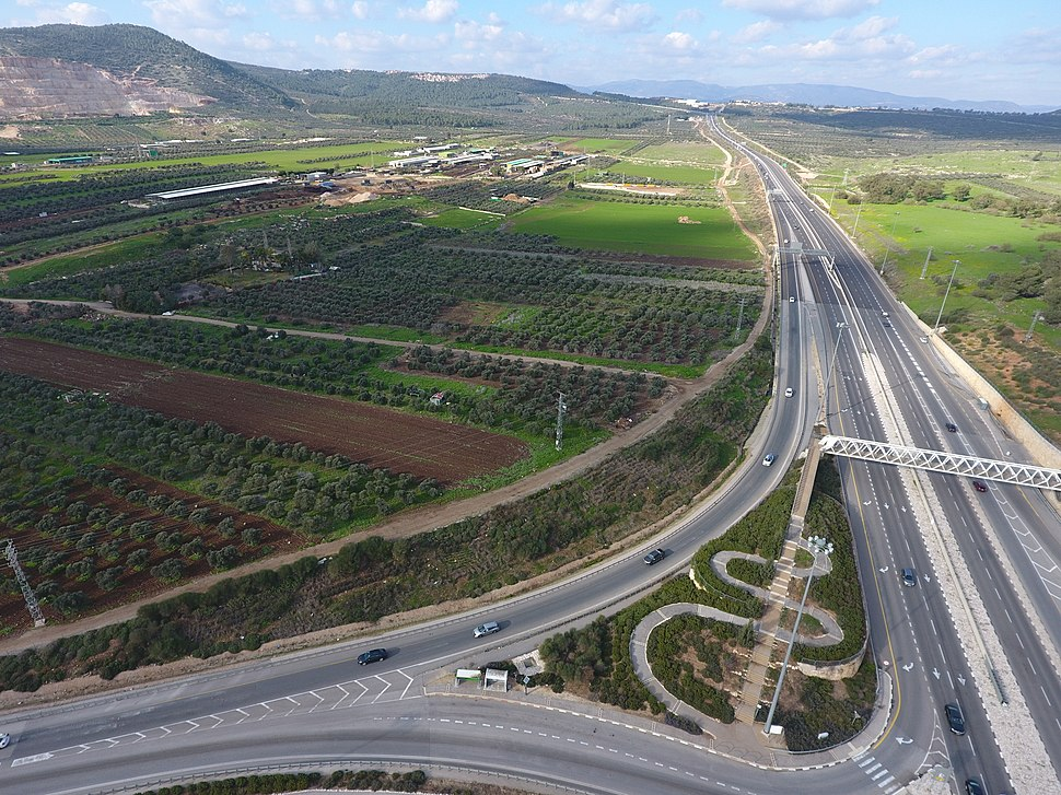 Golani interchange 0022