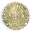 Gold Spade Guinea of George III - obverse YORYM 2013 1201.jpg