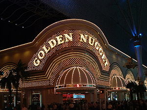 Guy McAfee - The Golden Nugget in Las Vegas, Nevada.