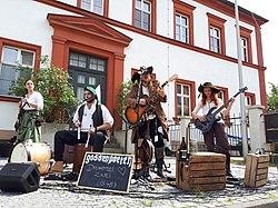 Gossenpoeten auf dem Schlosshof Festival, Höchstadt