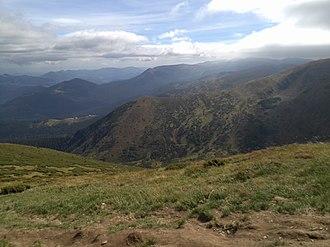 Carpathian Biosphere Reserve - Image: Goverla 18