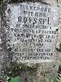 Grabmal für Pierre Boyssel, Familiengrab Wilhelm Moufang junior, Bergfriedhof Heidelberg 0132.JPG