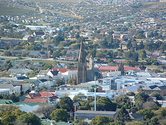 Grahamstown - Grahamstown from Fort Selwyn