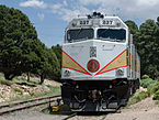 Grand Canyon Railway EMD F40PH 237, Grand Canyon Village 20110810 1.jpg