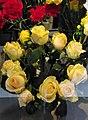 Grand Yellow roses .JPG