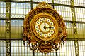 Grande Horloge intérieure de la Gare d'Orsay, Paris septembre 2015.jpg