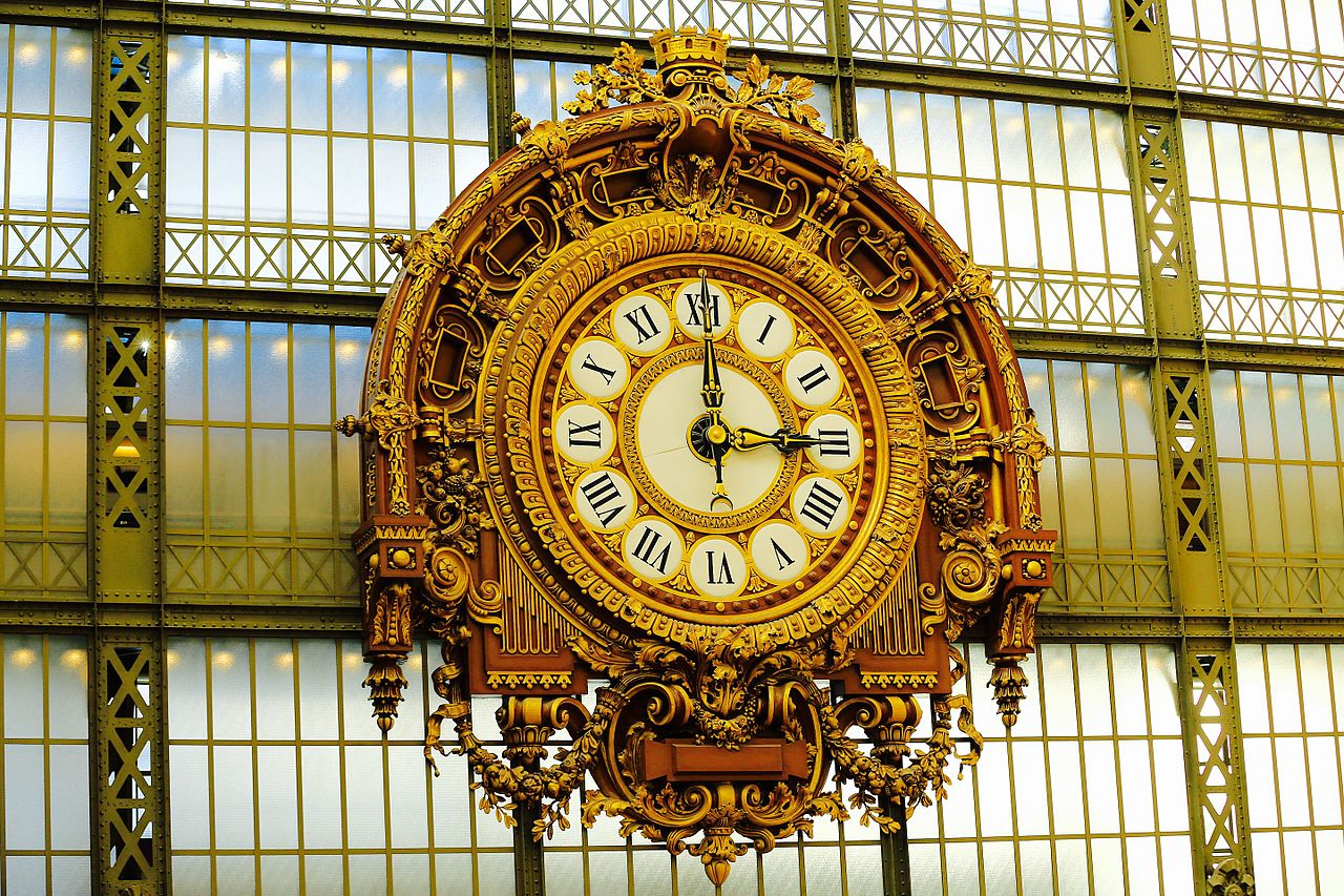 file grande horloge int rieure de la gare d 39 orsay paris septembre wikimedia commons. Black Bedroom Furniture Sets. Home Design Ideas
