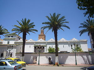Great Mosque of Tlemcen - Image: Grande mosquee Tlemcen face