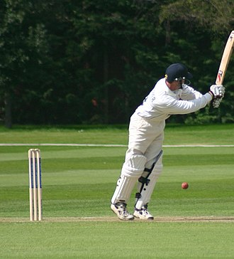 Grant Flower - Flower batting for Essex against Cambridge UCCE, April 2005