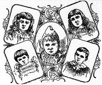 Ulysses S. Grant Jr. - Ulysses S. Grant Junior's kids depicted in an 1895 newspaper.
